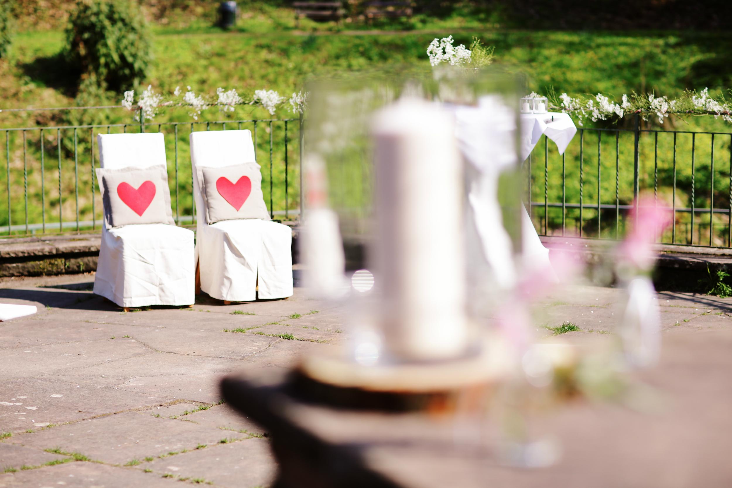 Hochzeit im wald hessen
